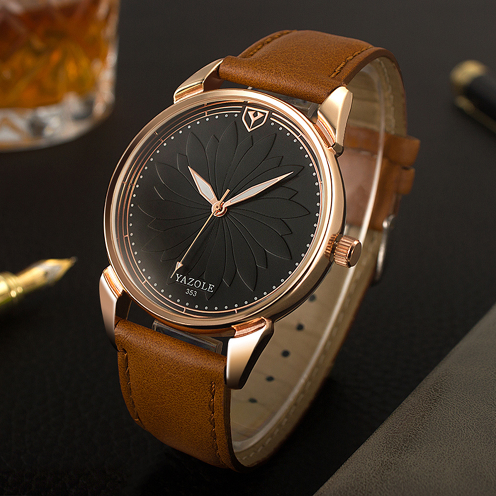 YAZOLE New Listing Quartz Watch Men Watches 2018 Brand Luxury Business Male Clock Ultra thin Dial Wrist Watch Relogio Masculino men watches top brand luxury yazole watch male clock business mens wrist watch small second dial designer time relogio masculino