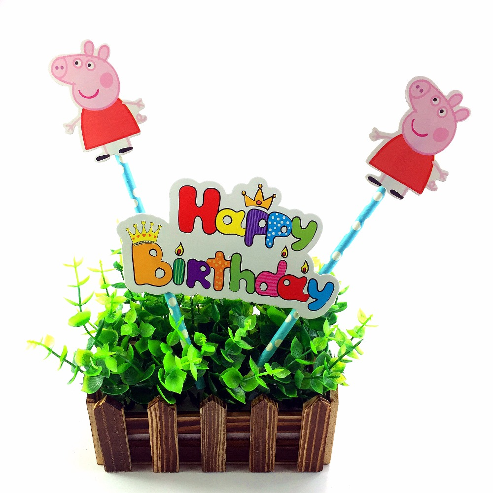 Online Buy Wholesale Peppa Pig Party Supplies From China