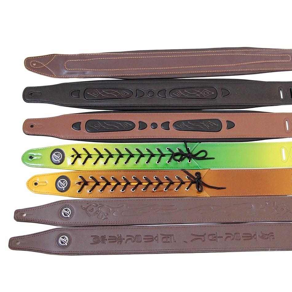Diverse Choices Super Leather Belt Straps for Bass Guitar / Electric Bass Belts / Electric & Acoustic Guitar Straps Promotion belts for women classic wild female minimalist thin belt women s belt leather belts cinturon hombre cinto feminino
