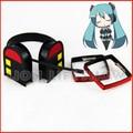 Vocaloid Miku Rin Cosplay Headwear Auriculares Auriculares Accesorios Para el Cabello Clip Prop