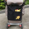 Bolsa de pañales Bolsa de Almacenamiento Cesta Cochecito de Bebé de Viaje Organizador con Cambiador para Bebés Cochecito de Bebé Cochecito Accesorios Colgar la Bolsa Mami Bag
