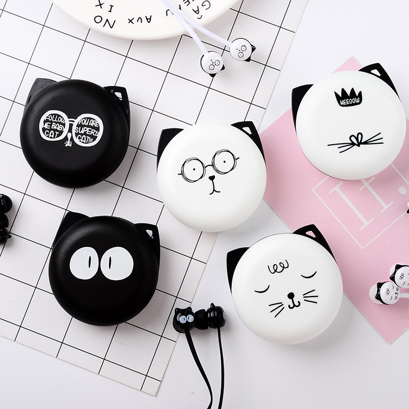 CHICLITS-NEW-2018-Cute-Cartoon-Cat-Earphone-3-5mm-Stereo-With-Mic-In-ear-Headset-For (1)