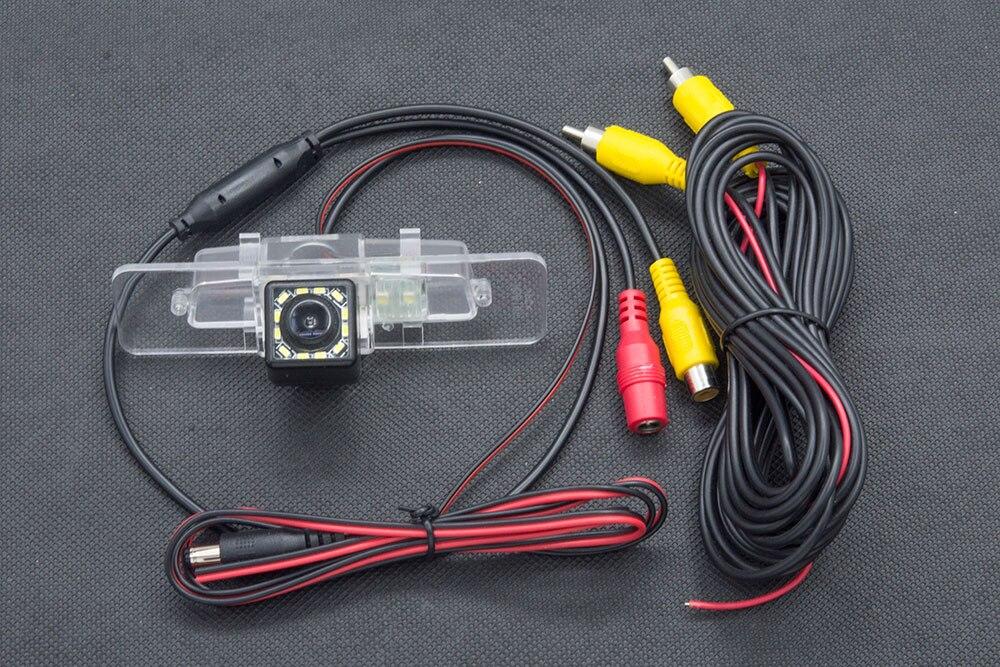 HD 1280x 720p Cam/éra de Recul Cam/éra Vue arri/ère de Voiture Imperm/éable Vision Nocturne pour Buick Park Avenue Chevrolet Sail Camaro Fiat 500 500C 2009-2015
