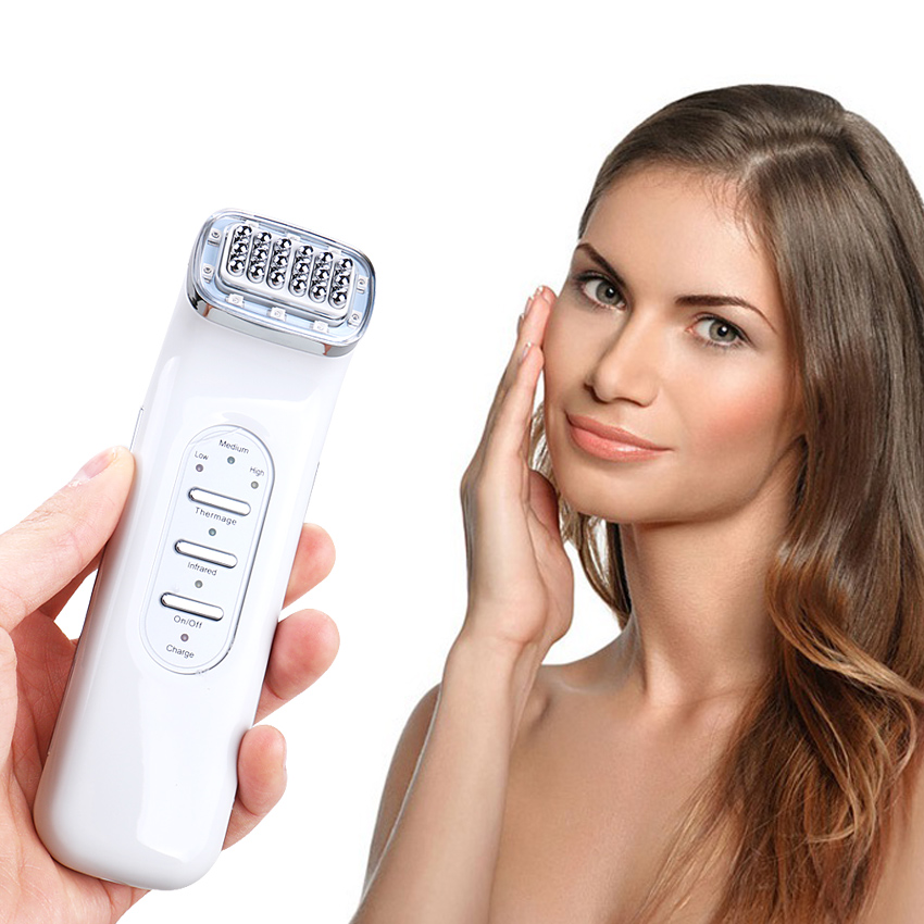 110-240V RF Wrinkle Removal Beauty Machine Dot Matrix Facial Thermage Radio Frequency Face Lifting Skin Tightening RF Thermage portable fractional rf thermage skin tightening face lift anti aging dot matrix radio frequency facial machine