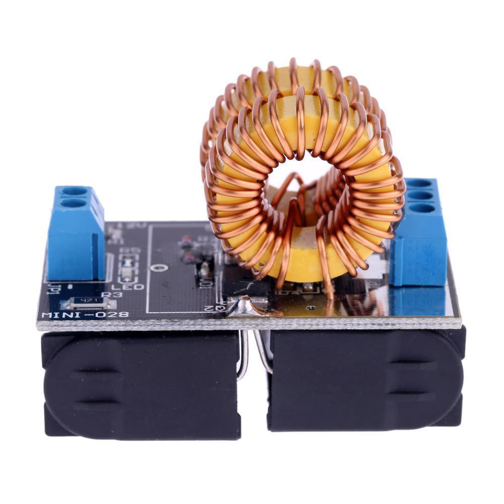 5V-12V Low Voltage ZVS Induction Heating Power Supply Module + Heater Coil 5 15v zvs induction heating power supply module coil with power supply charger transformer adapter