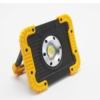 10W COB led work light portable rechargable lantern camping Tent Light for emergency hiking camping fishing outdoor using