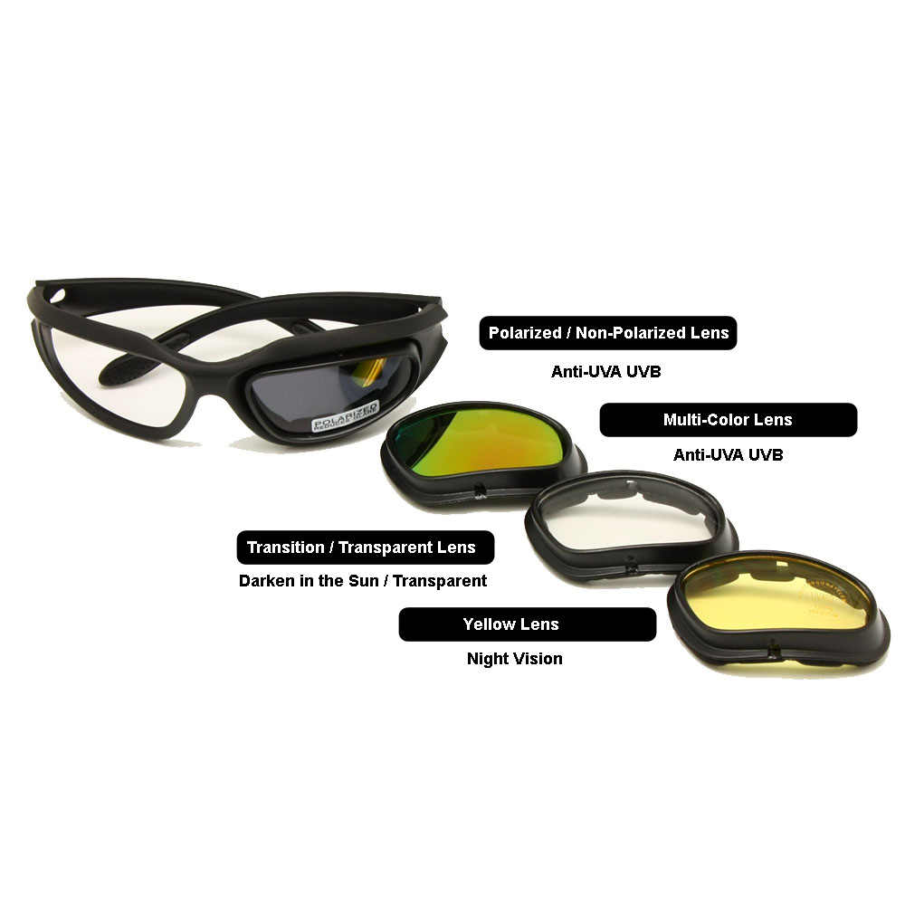 174531cff47 Detail Feedback Questions about Daisy C5 Polarized Army Goggles ...
