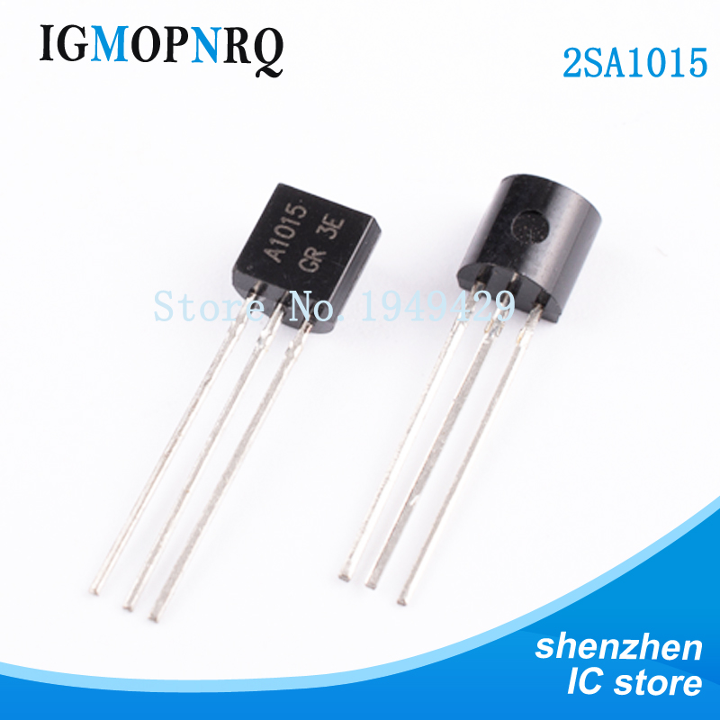 100PCS/Lot A1015 2SA1015 A1015 2sa1015 PNP TO-92 Triode New  Wholesale Electronic