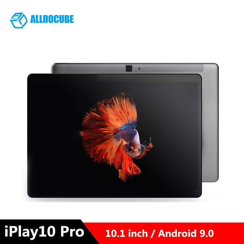 ALLDOCUBE IPlay10 Pro 10.1 Inch Tablet PC Android 9.0 MTK8163 1.5GHz Quad Core CPU 3GB 32GB 5.0MP Camera 2.4GHz WiFi Tablets