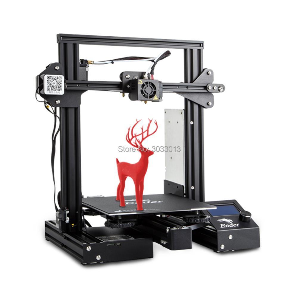 Le plus nouveau Ender-3 d'impression 3D Pro/Ender 3/Ender-3X kit de bricolage imprimante 3D mise à niveau aimant plaque de construction reprendre l'impression de panne de courant