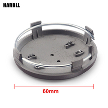 HARBLL 4PCS/LOT 60MM Car Wheel Center Hub Caps For AUDI A3 A4 B6 B8 B7 B5 A6 C5 C6 A5 80 Q7 TT Q5 Q3 4B0601170