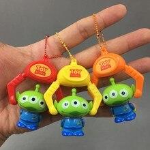 60 piezas de juguete figura alienígena juguetes llavero extranjeros de PVC  figuras de acción 3 estilos mixtos 47a689d6e48