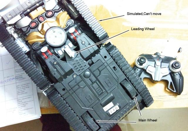 Transform RC Robot Tank 1:14