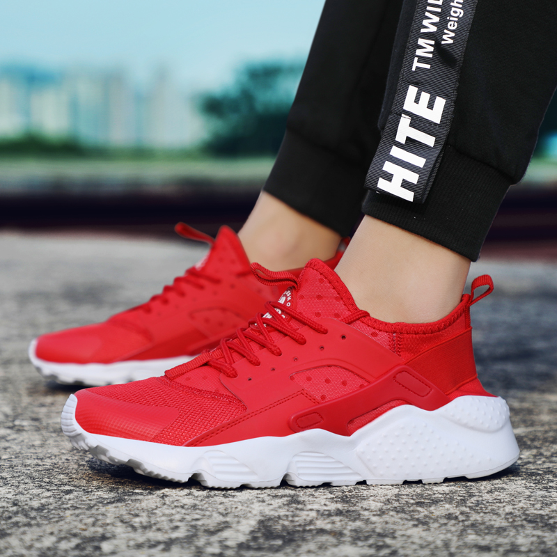 Home Summer Tenis Feminino Shoes Woman Sneakers Spor Chaussures Femme Zapatos De Mujer Women 2019 Nouveau Modis Casual Red Sneaker 100% Original