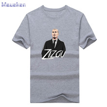 New Zizou Cartoon Manager Zidane T-shirt Men's t shirt 100% cotton for fans gift 0912-4