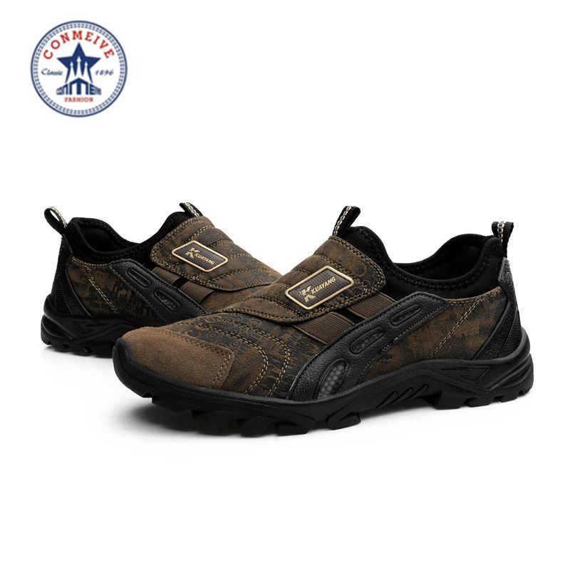 2018 Echte Nieuwe Medium (b, m) eva De Nieuwste Mannen Wandelschoenen Outdoor Sport Antislip Athletic Zapatos Hombre Gratis Verzending
