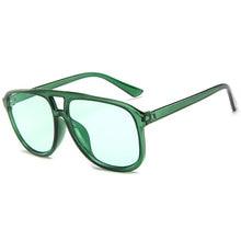 Vintage Men Sunglasses Classic Brand Design Women Sun Glasses Black Green Yellow