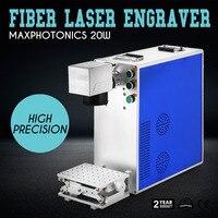 Superland 20W Fiber Laser Marking Machine 110mmx110mm Fiber Laser Engraver Marking Machine