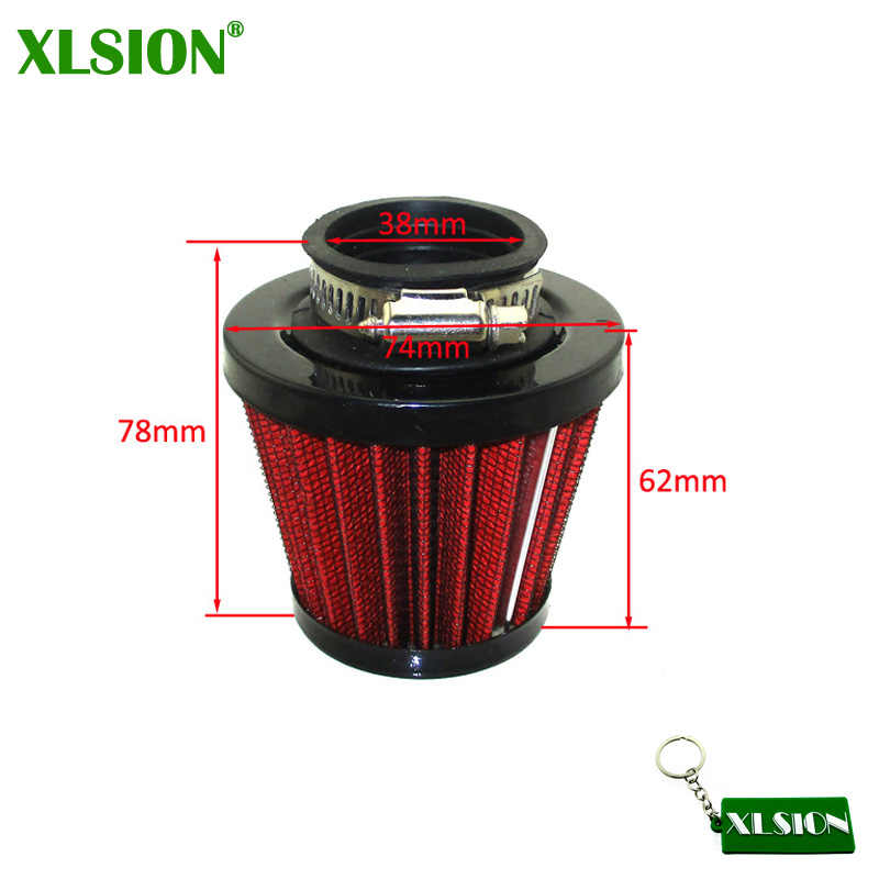 XLSION Prestaties 38mm Luchtfilter Voor Chinese GY6 50cc QMB139 Bromfiets Scooter