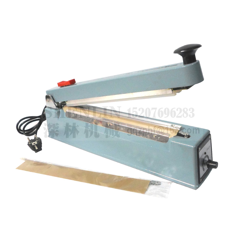 Manual Bag Sealing Machine Impulse Package Heating Sealer SFC200/300 Hand Held Bag Sealer With Cutting Knife Film Cutter Sealer