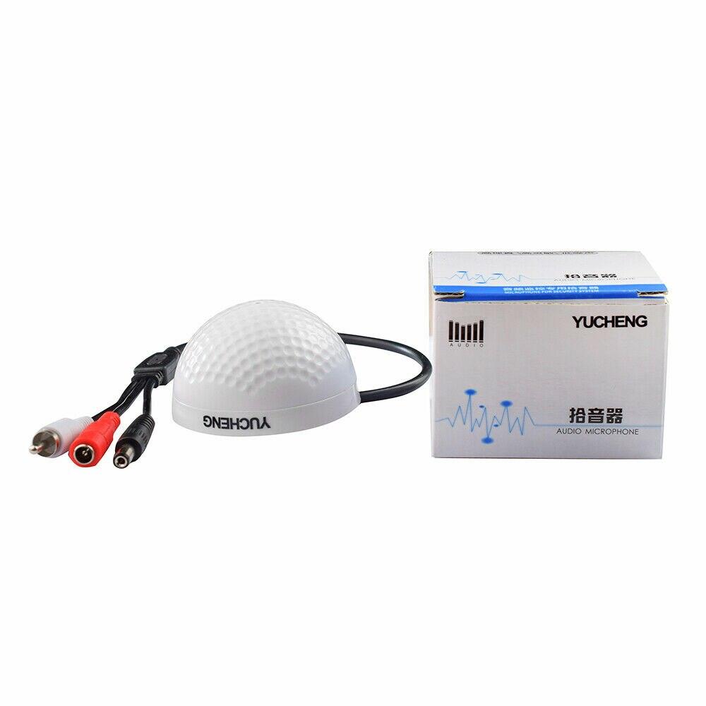 Высокочувствительный Аудио Пикап вход мини-микрофон видеонаблюдения с низким уровнем шума чистый естественный голос