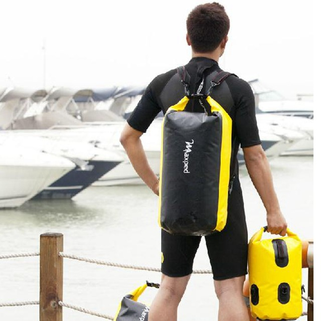 Outdoor hiking Travel Dry bags single double shoulder Waterproof bag Rafting bag 20 L 30 L 50 L цена
