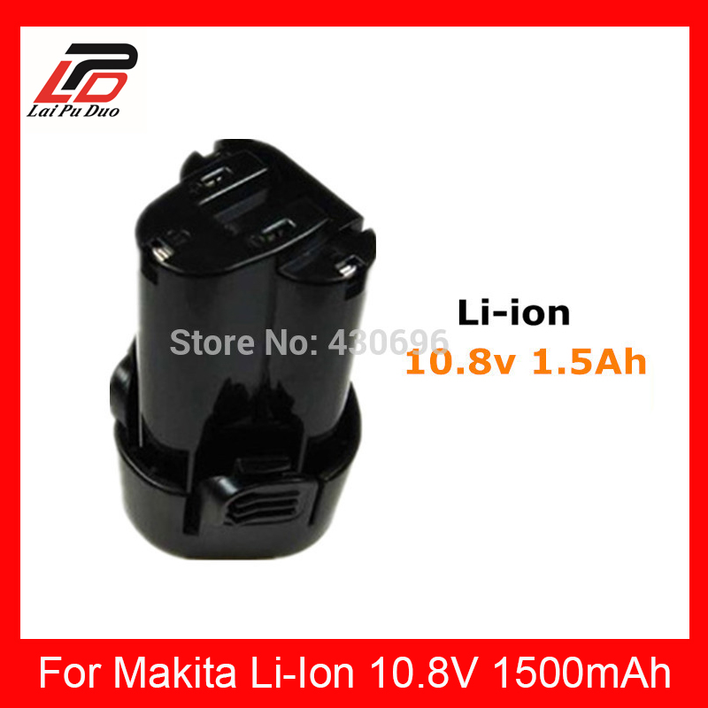 10.8v Replacement for MAKITA 1.5Ah BL1013 194550-6 194551-4 TD090D,TD090DWX,TD090DWXW Power Tools Lithium Battery