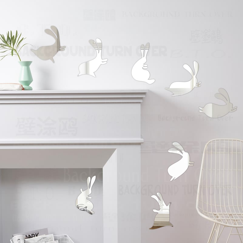 Mirror Wall Stickers Room Decoration