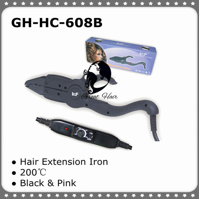 Freeshipping - Hair Extension Fusion Connector / Hair Extension Fusion Iron GH-HC608B