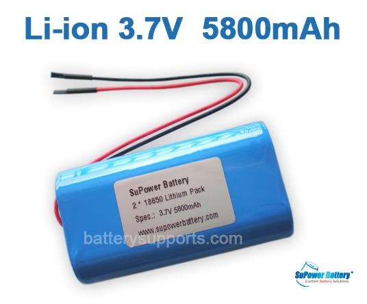 аккумулятор 18650 5800mah 3.7v