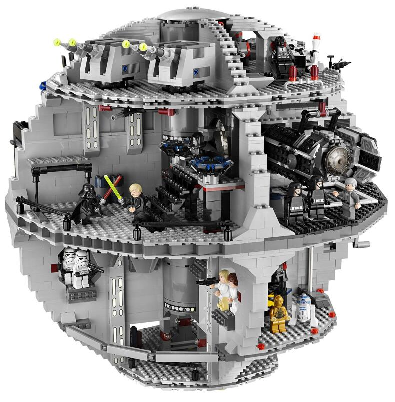 05035 Star Series Wars UCS Death Star Educational Building Blocks Bricks Toys Compatible legaoING 10143 10188