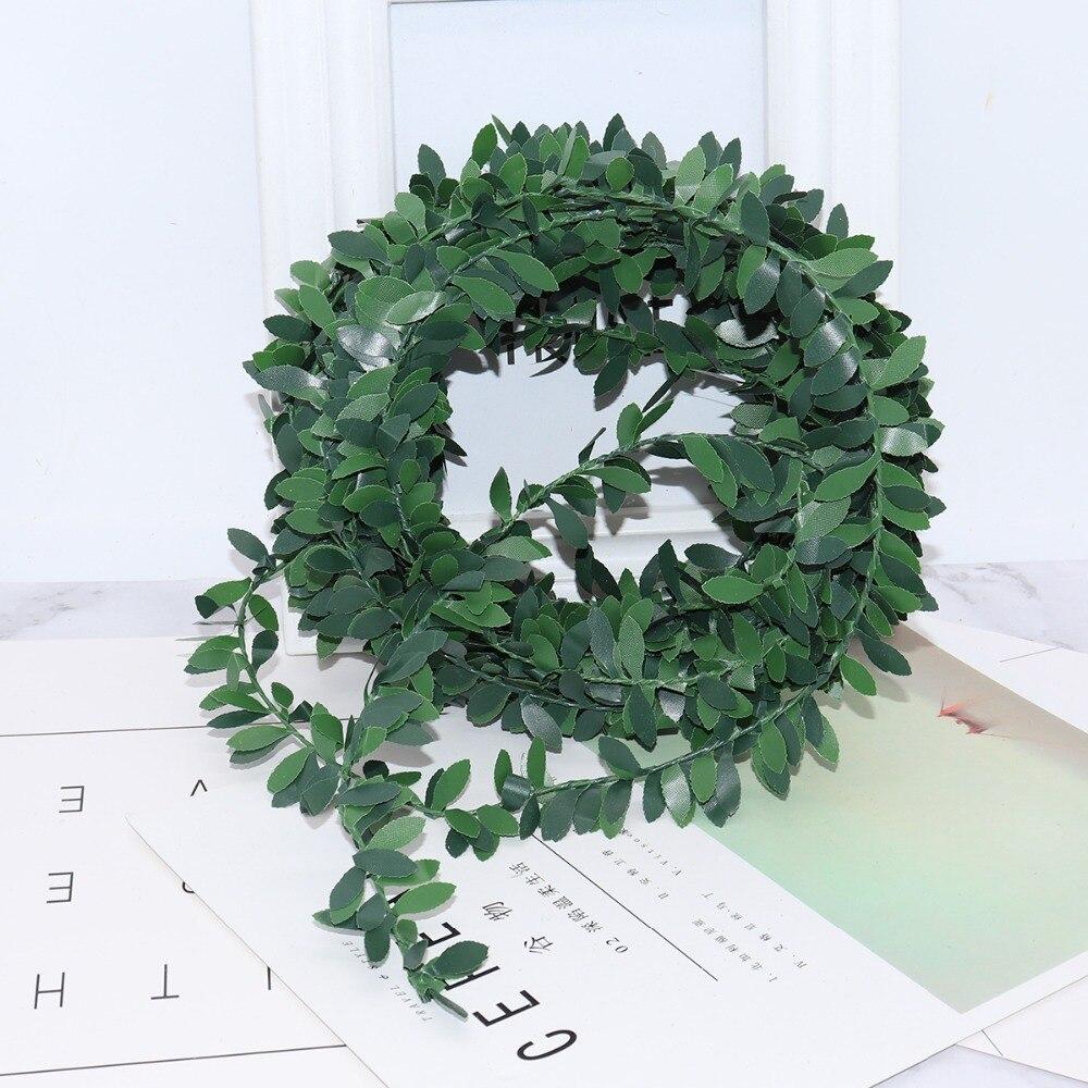 2m-artificial-flowers-rattan-Leaf-Nylon-Iron-Wire-DIY-wreath-Accessory-For-Wedding-Car-Decoration-garland(6)