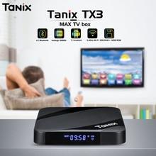 Tanix TX3 Max ТВ Box Android 7,1 Bluetooth 4,1 Amlogic S905W 2 Гб Оперативная память 16 Гб Встроенная память Декодер каналов кабельного телевидения 2,4 ГГц Wi-Fi 4 K Media Player