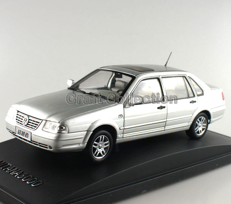 * Silver 1/18 Volkswagen VW SANTANA 3000 Classic Alloy Model Car Out of Print