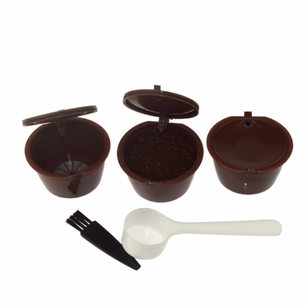 Четыре-в-одном nestle Кофе фильтр капсулы В виде ракушки Пластик фильтр катушка совместимый для Mini Me, GENIO, пикколо, esperta и клуб