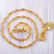 Fashion Anklet Gold Tone Bell Heart Charms Anklets Foot Chain Beach Jewelry 2016 Hot Sell