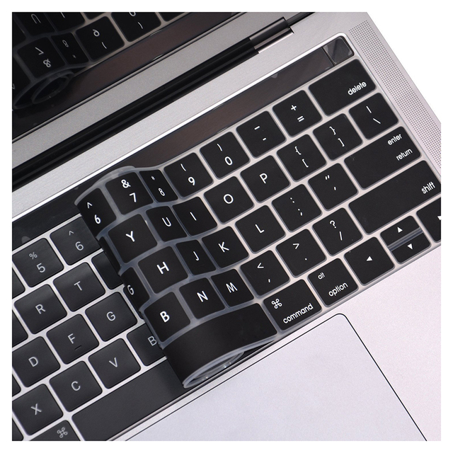 sale retailer c6652 22ccf US $0.78 |COOSKIN Silicone Ultra Thin Keyboard Protector for New MacBook  Pro with Touch Bar 13