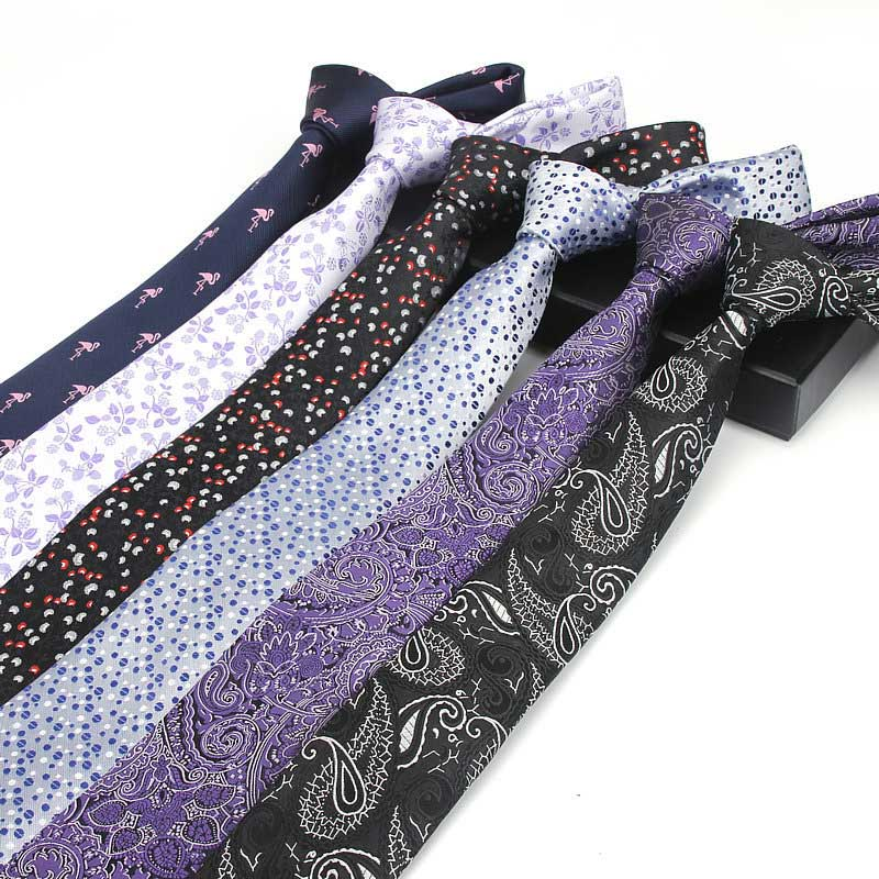 Men Groom Neckwear Tie Necktie Jacquard Polyester Fashion For Wedding Business Suit FS99