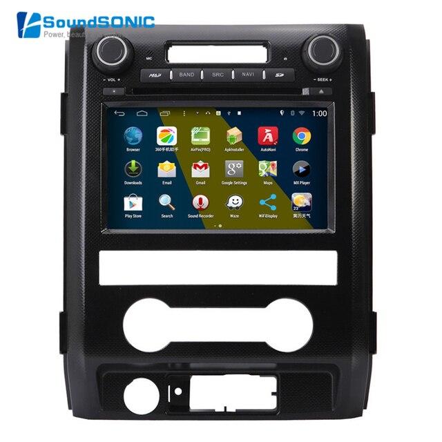 For Ford F150 Raptor 2009 2010 2011 2012 Android 4.4.4 S160 Automotivo InDash Car PC Auto Monitor Car Radio CD DVD GPS Autoradio