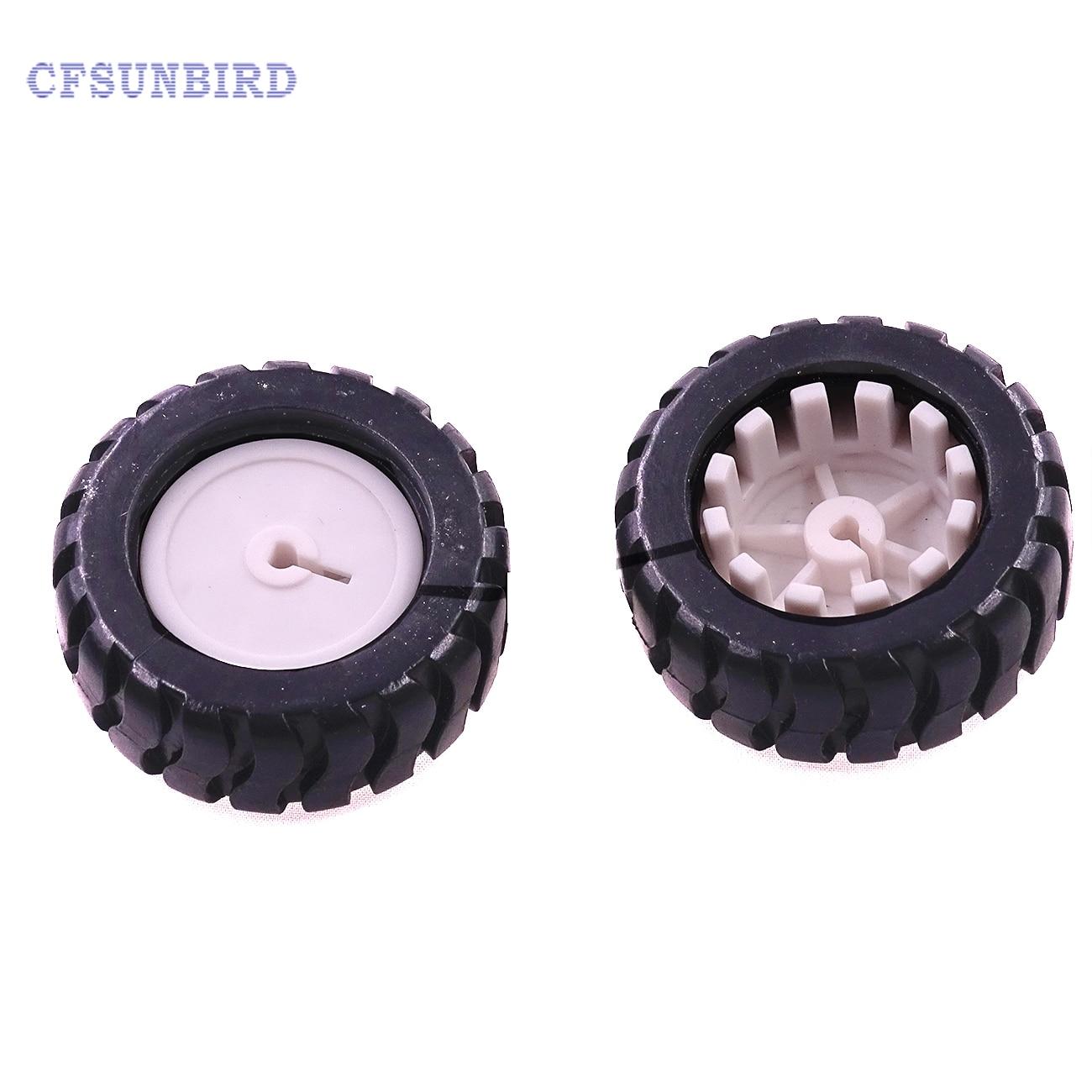 1pcs/lot K346B 43*19*3mm D-hole Rubber Wheel Suitable for N20 Motor D Shaft Tire Car Robot DIY Toys Parts соска pigeon b 345 b 346 b347 sml