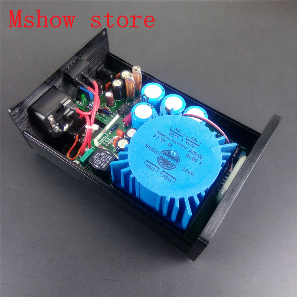 Home Audio & Video Punctual Mshow P2 25va Upgrade Talema Ultra-low Noise Linear Power Supply Psu Output Dc 15v 18v 24v High Quality For Hifi Audio Amp Dac 100% Guarantee