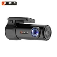 Cheaper QUIDUX Car DVR Full HD 1080P Nightvision Video Camera WIFI APP Monitor 360 degree rotation Digital Registrar Recorder Camcorder