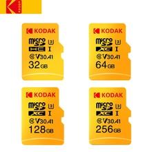 Kodak 256 GB micro sd высокоскоростная карта класса 10 U3 4 K cartao de карты памяти карта памяти 256 GB tarjeta micro sd
