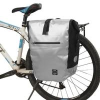 Bike Large Capacity Waterproof Bike Bag MTB Road Bicycle Rear Rack Pannier Pouch Cycling Rear Seat Bag Bike Trunk Pack