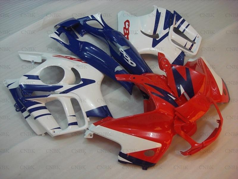 for CBR600 F3 1995 1998 Body Kits CBR600 F3 97 98 Red Blue White Body Kits