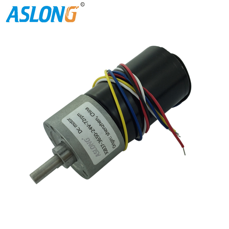 JGB37-3650 DC Brushless Gear Motor Electric Motor brushless motor with inner driver ,CW/CCW Hall Sensor PWM speed controller