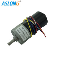JGB37 3650 DC Brushless Gear Motor Electric Motor brushless motor with inner driver ,CW/CCW Hall Sensor PWM speed controller