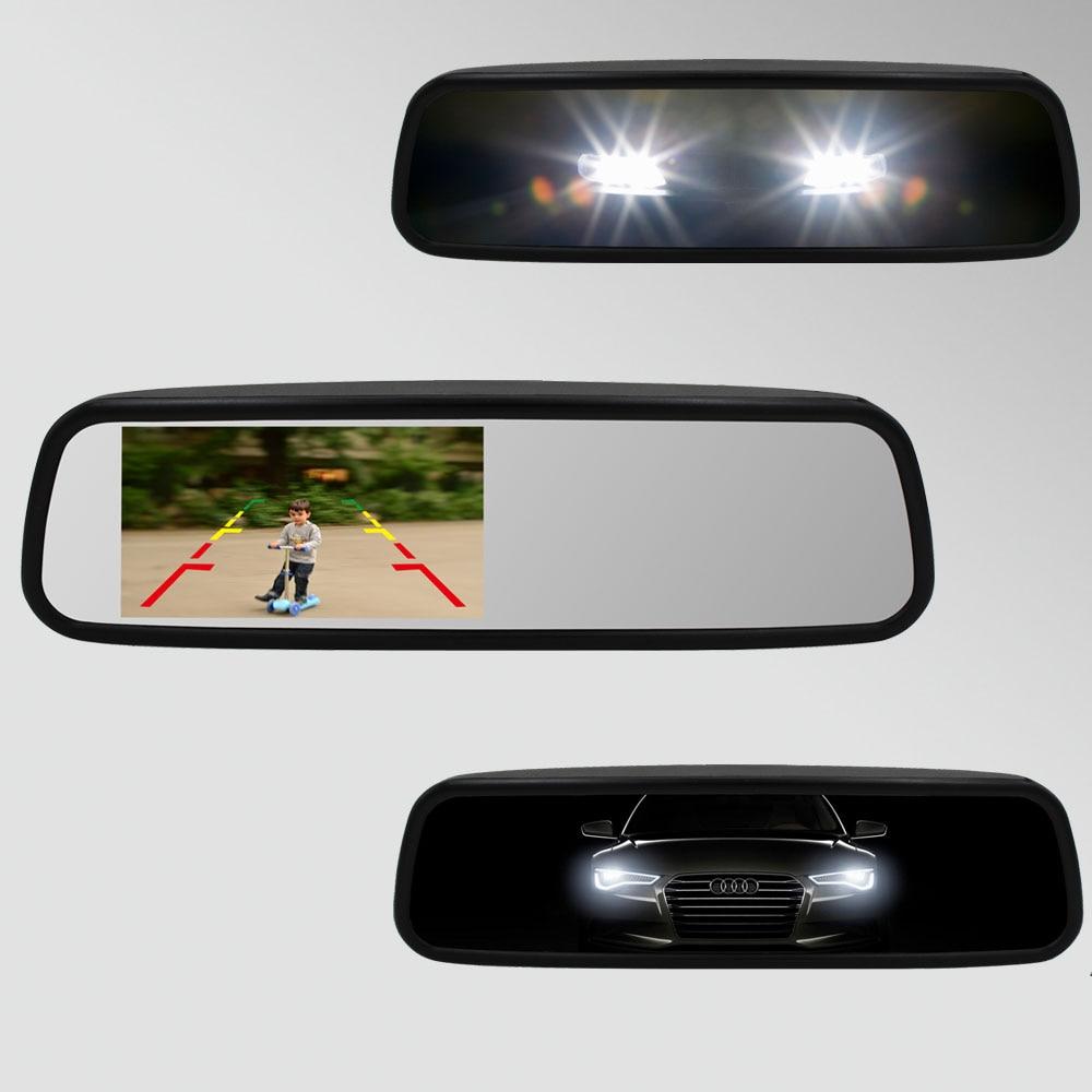 4.5 OE style parking monitor Auto Dimming Compass Mirror against headlights full beam car Auto Brightness Genius Bracket monitor