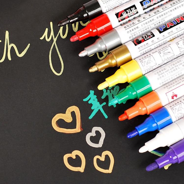 10pcs color paint pen album DIY cardboard hand-painted graffiti pen pens brown eyes girls 6th album basic release date 2015 11 10 kpop album
