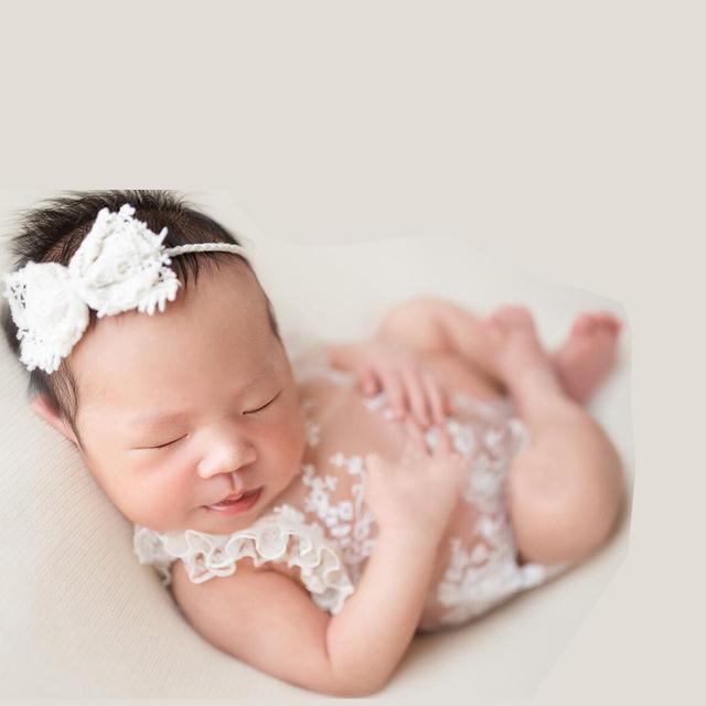 Pixie Princesa de La Muchacha Del Cordón Del Recién Nacido accesorios de Fotografía del bebé Del Mameluco General Roupa de Bebe, Bebé accesorios de Fotografía Ropa de Bebé